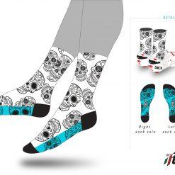 Ftech Scull Socks-0